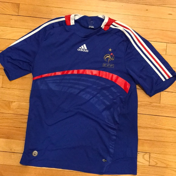 separation shoes fb514 981fb Adidas French National Soccer Jersey [Zidane]